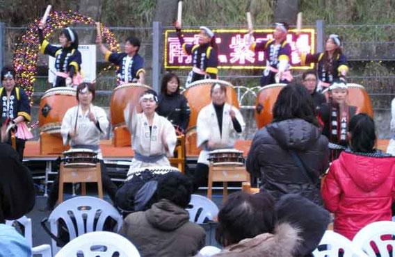 太鼓の競演
