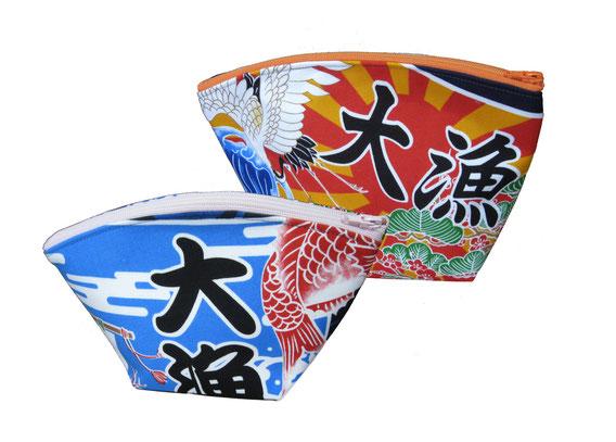 気仙沼オリジナル大漁旗ポーチ