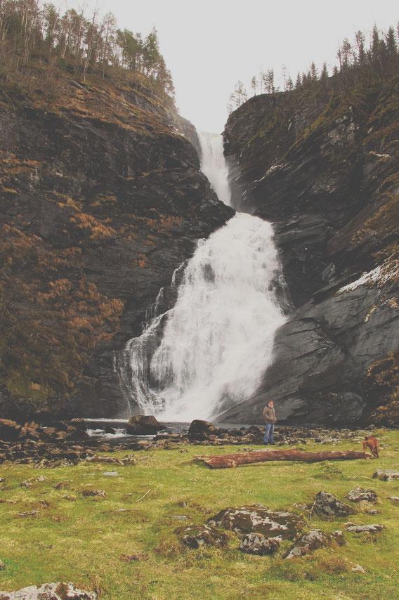 bigousteppes norvège cascades