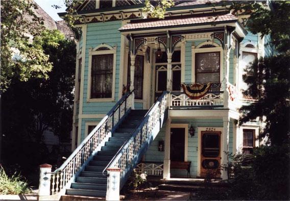 Viktorianische Häuser in Sacramento/USA, 2009