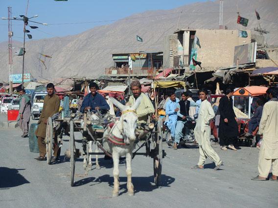 Angekommen in Quetta, der Hauptstadt Belutschistans