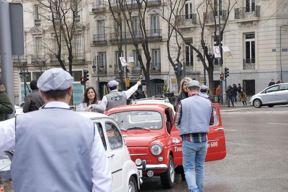 Tours turísticos Seat 600 Madrid