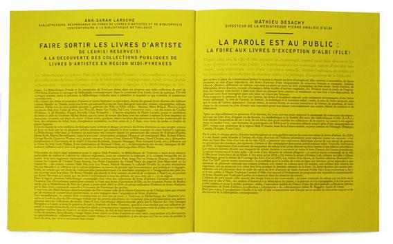 livret de la revue littéraire du CRL