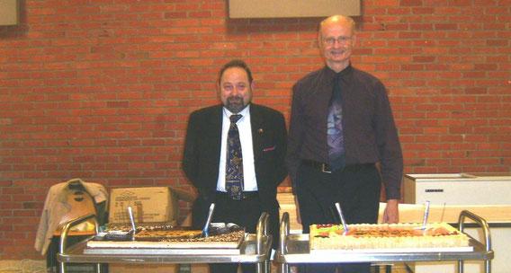 50 ans d'accordéon pour Roger et Alain