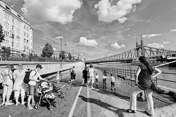 Flood in Budapest, Hungary 2013