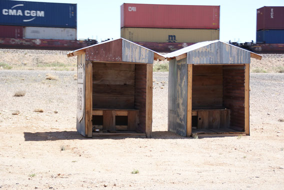 Auch wenn es so aussieht - das sind KEINE Toiletten...