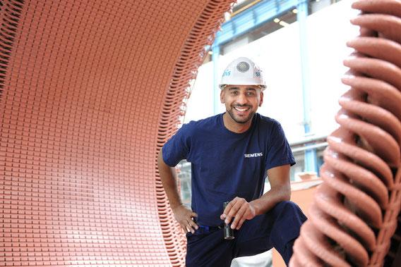 Kampagnenmotiv Siemens Aktienkultur // Dynamowerk Berlin