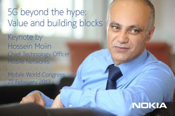 Hossein Moiin, CTO Nokia