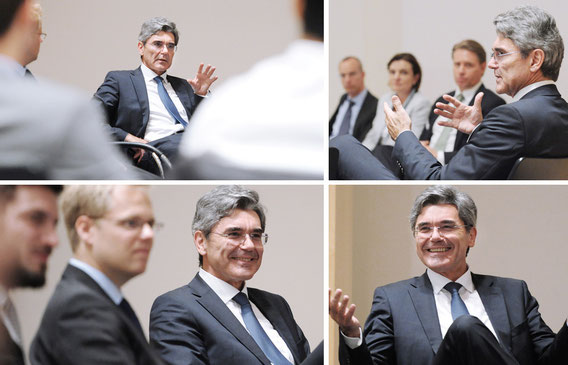 Joe Kaeser neuer Vorstandsvorsitzender der Siemens AG