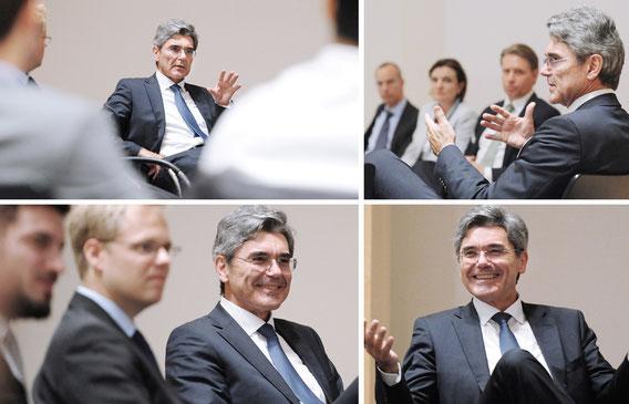 Joe Kaeser Vorstandsvorsitzender der Siemens AG