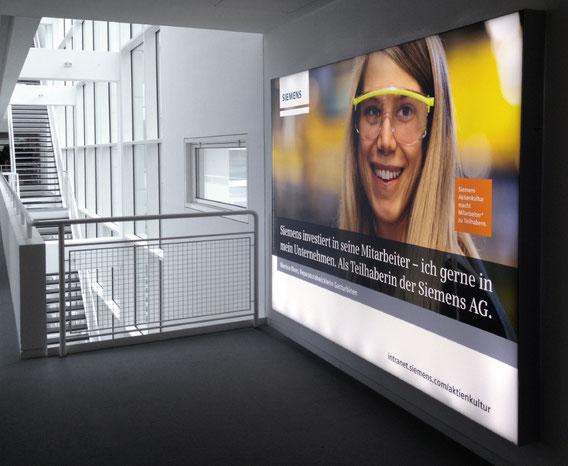 Siemens Aktienkultur Kampagne