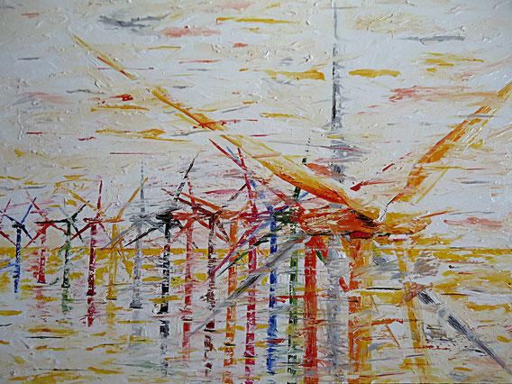 Windrad, Offshore Park, Windenergie, Klima