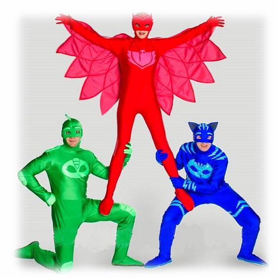 Аниматоры Герои в масках на детский праздник или день рождения ребенка