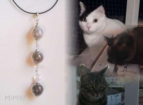 artistic-pet-hair-jewel-mi-miga-necklace-leather-sterling-silver-glass-pearls-swarovski-heart-cats-pirata-misha-paris