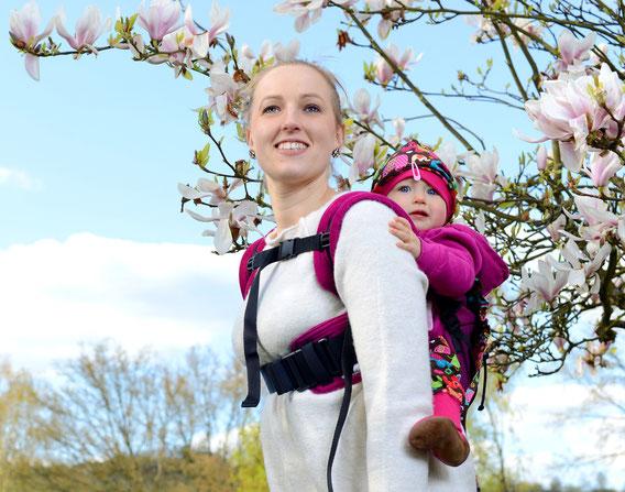 Huckepack Hüftgurt für Onbuhimo babytrage, Hybridtrage, Full Buckle