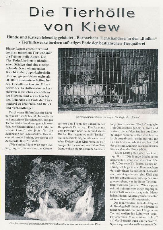 Die Tierhölle von Kiew (Teil 1)