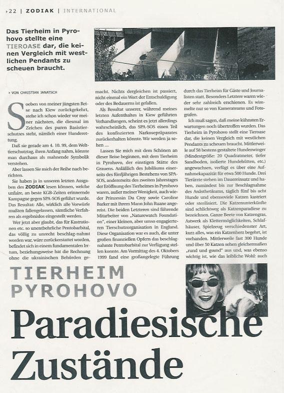 Paradiesische Zustände (Teil 1)