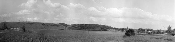 Вид на Пенягинскую гору. Фото из архива Варламова А.П. 1971г.