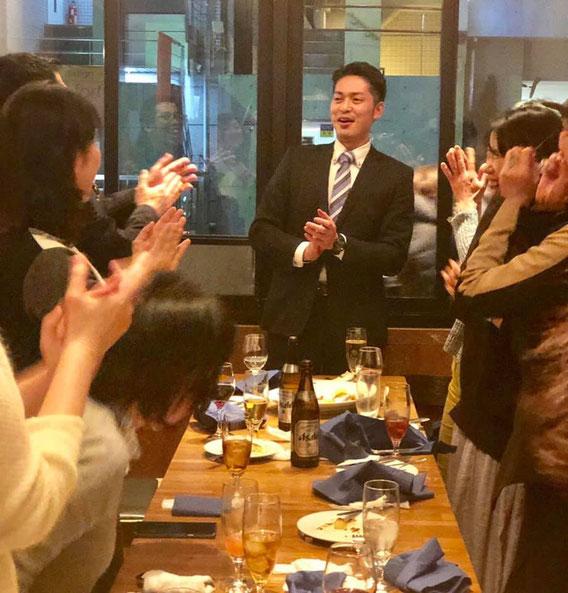 高橋さんのスピーチ!