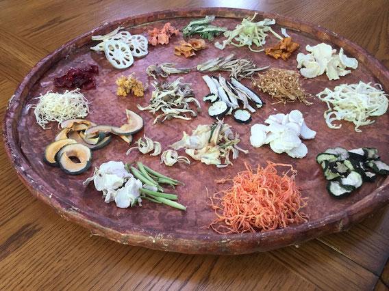 21種類の野菜の乾物。全部自然乾燥です。
