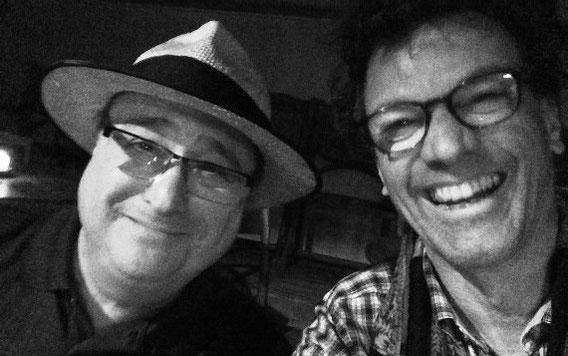 .. mit Sugar Ray Norcia, Blues Music Award Winner 2014 und Grammy-nominierter Harper in der Mühle Hunziken 2014 (www.sugarrayandthebluetones.com)
