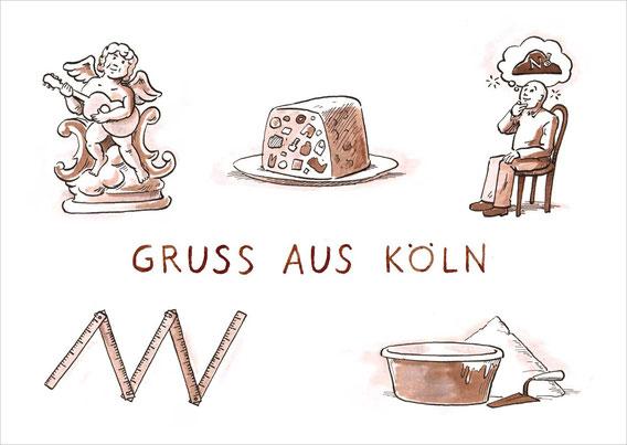Die Kölnpostkarte
