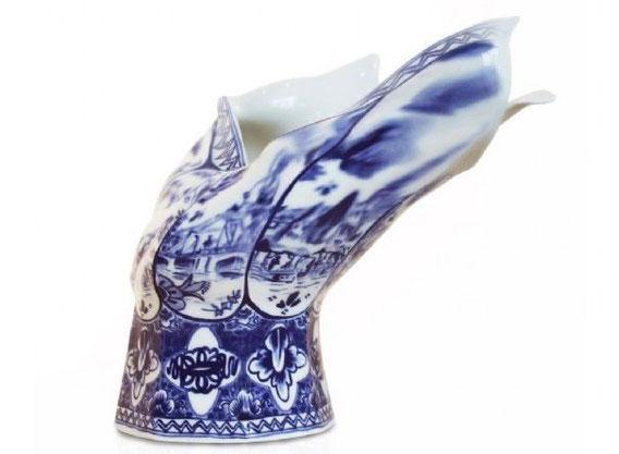 Blow Away Vase, Front