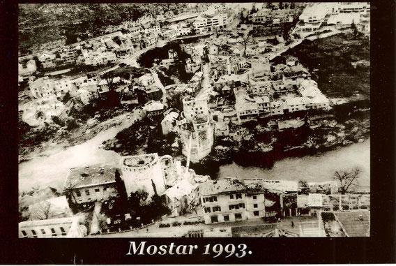 Mostar nach dem Krieg