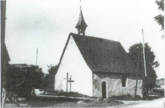 Die alte Kapelle vor 1945