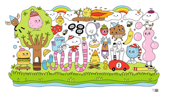 Yeka Haski Kunst für Kinder