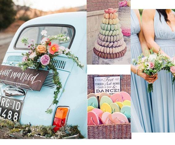Powder blue colore matrimoni 2019 pantone