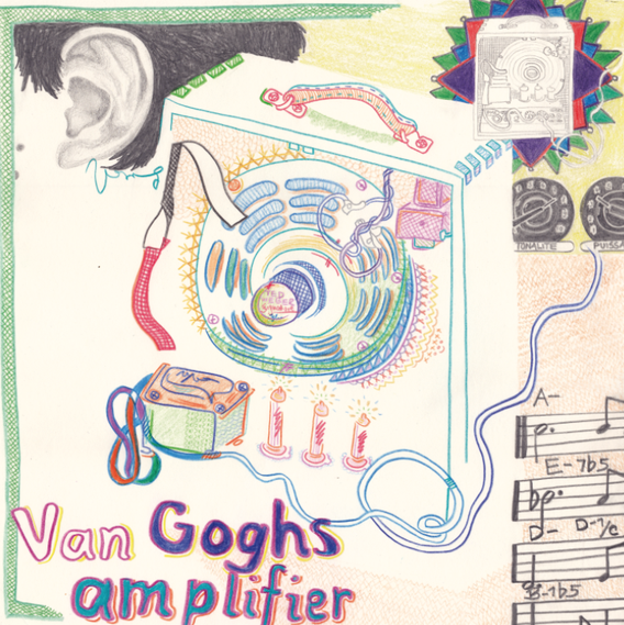 Van Goghs Amplifier 2013 Pencil and Colored Pencil on Hahnemühle 30x30cm © Cindy Leitner