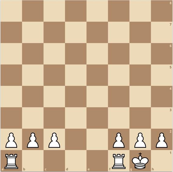練馬チェス教室  キャスリング 入城 変則ルール