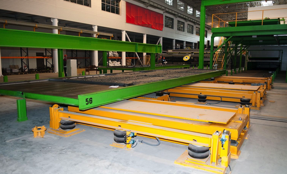 PALLET CIRCULATION PLANT