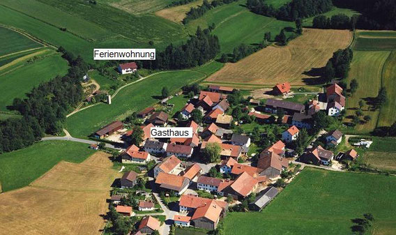 Luftbild von Flischbach