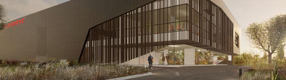 2018 - Réaménagement d'un Siège social à  Marseille (13) - Espace d'exposition / Bureaux - MO: Privé - Surface: 2 100 m² SDP  - Budget: 1,4M€HT. - Chantier T4 2018