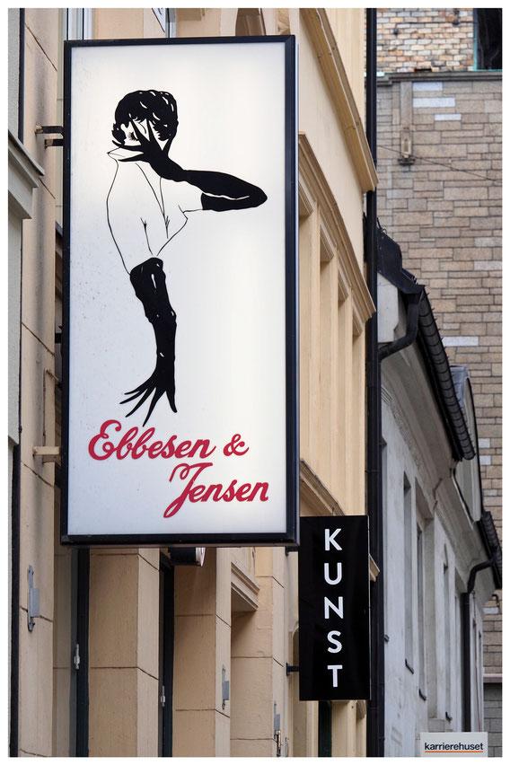Oslo Ebbesen & Jensen Firmenschild