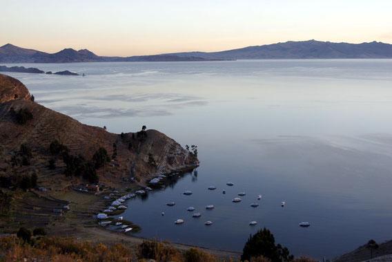 Ausflug zur Isla del Sol im Titicacasee, BOLIVIENline