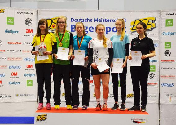Bogensport-Mettingen Bogenschießen Bogensport Mettingen Bsg BSG Recurve Deutsche Meisterschaft Hof 2017 Hallenchampionat Dortmund Deutscher Rekord
