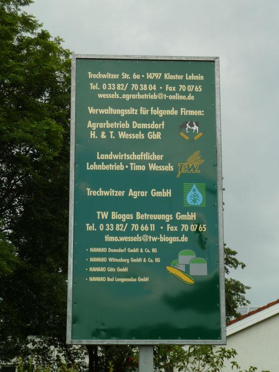 Hof Wessels in Kloster Lehnin