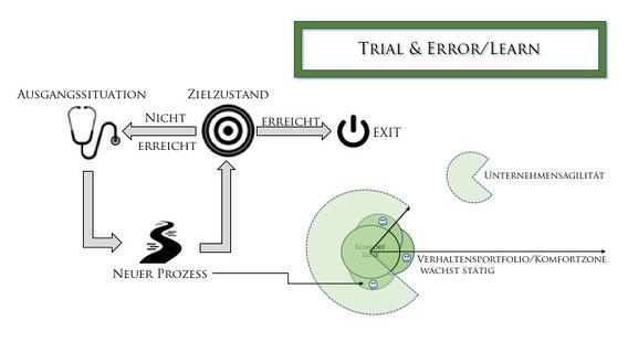 Trial & Error/ Learn Prinzip - BfV