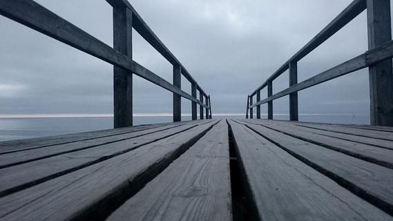 Strandzuwegung bei Westerland