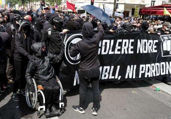 Den venstreradikale 'Black Bloc'