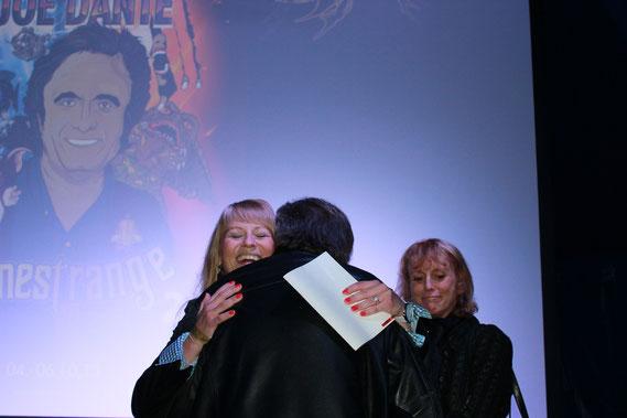 Joe Dante und seine bezaubernde Frau Elizabeth Stanley