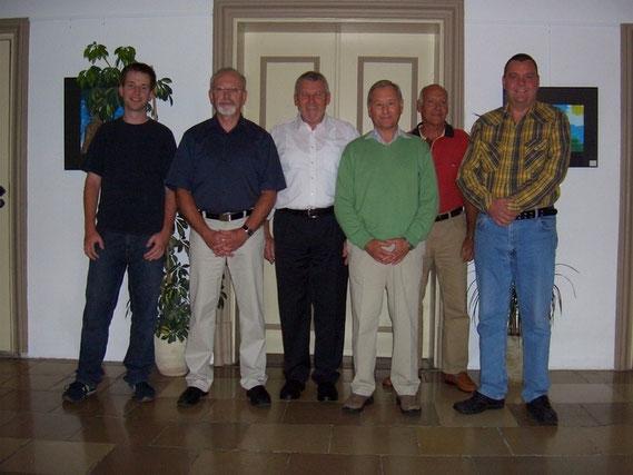 2008 war die Führung des Schachklub Bobingen noch friedlich vereint. Mit dem Klub ging es Bergauf.