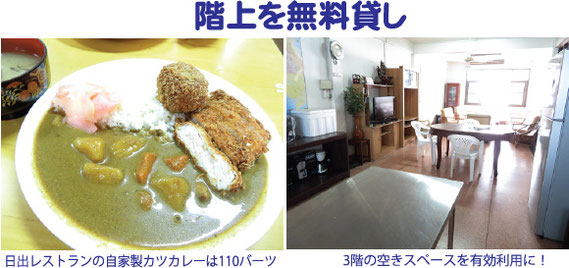 カツカレー 110バーツ。カラリと揚がったトンカツはよい。カレーも日本の味