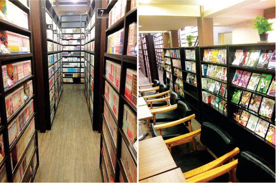 新刊本を扱う書店から、中古本の販売・買い取りをする店も