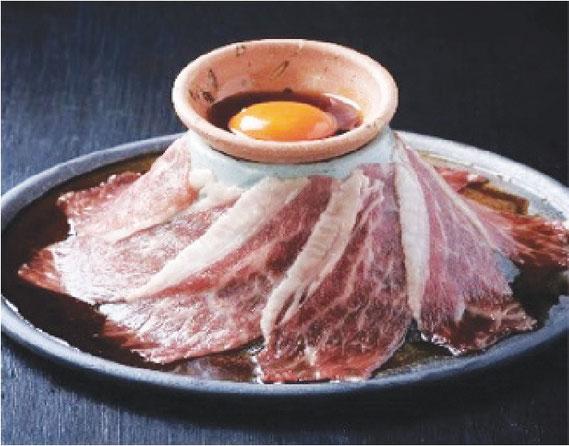 和牛の焼きスキ(390バーツ)