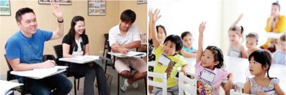 タイ語学校で語学を習う