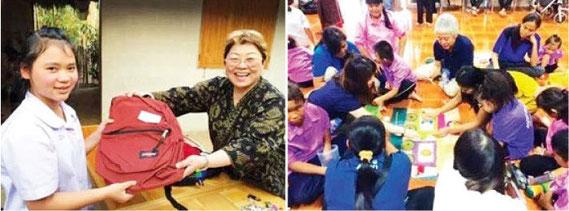 日本での退職後にタイでボランティアする人も